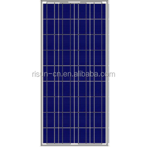 120W Poly Solar Panel With TUV/IEC/CE/CEC Certificates, Made of A-grade high efficiency polycrystalline silicon cells