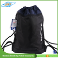 Wholesale Promotion Polyester Shoes Drawstring Bag