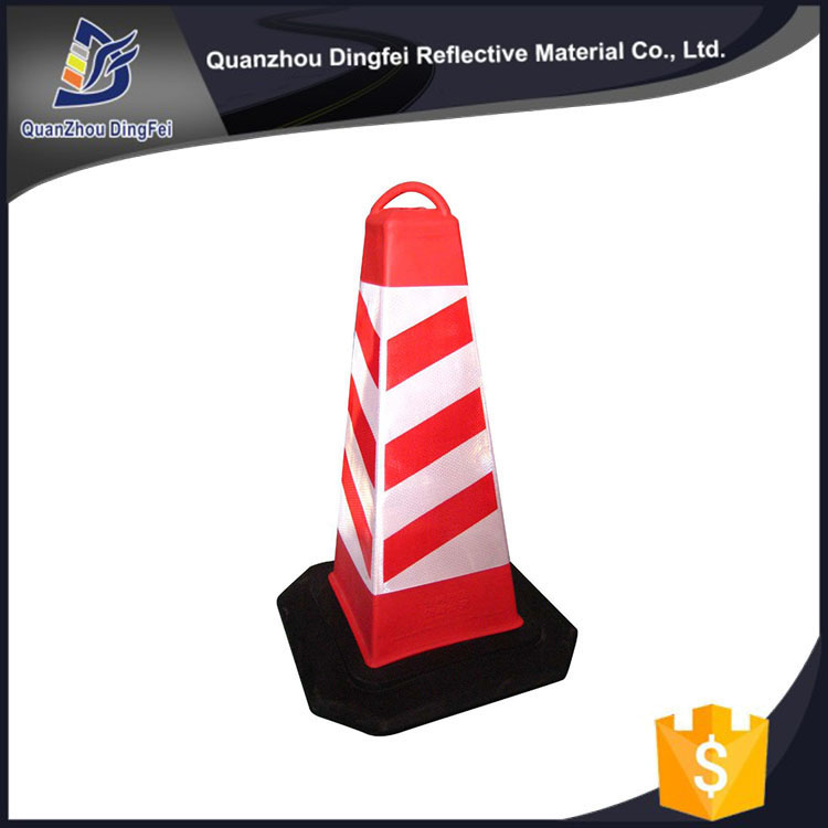 PVC Type Triangle China New Design Popular Red Safety Reflective Safety Cone Sleeve