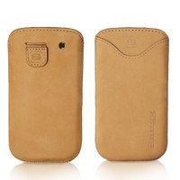 Snugg case for Samsung Galaxy S3 Pouch Case in Tan Suede