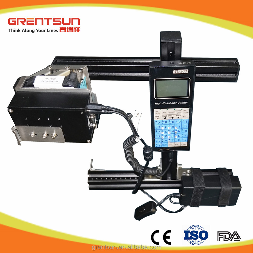Automatic batch date code number printing machine