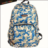 "stock 17"" army 2 front pockets camouflage fashion bags backpack school bag"