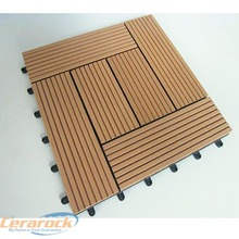 300x300mmx22mm wood plastic composite corridor outdoor wpc diy tiles