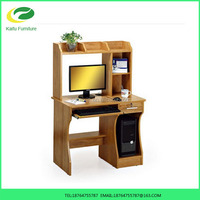 2017 made in China Student Wood Computer Desk Kid's Wooden Study Computer table Simple design wooden computer desk table