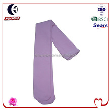 girls plain cotton tube tights pantyhose without heel