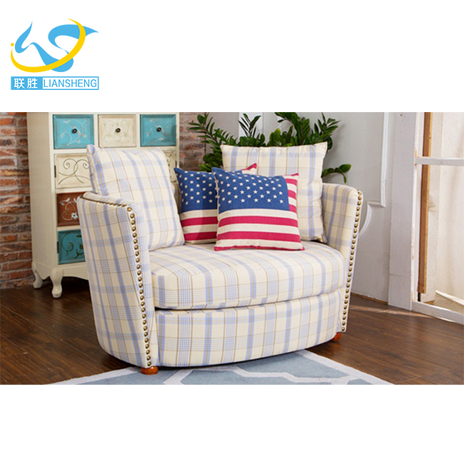 rural living room sofa American country small family combination sofa