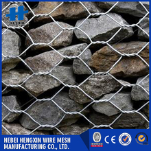 Stone gabion mesh aperture 100*120mm gabion cages cheap goods from china