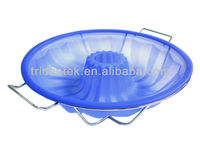 Silicone bakeware Bundt Cake Pan with Rack