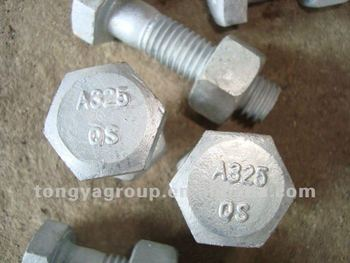 A325 bolts and nuts