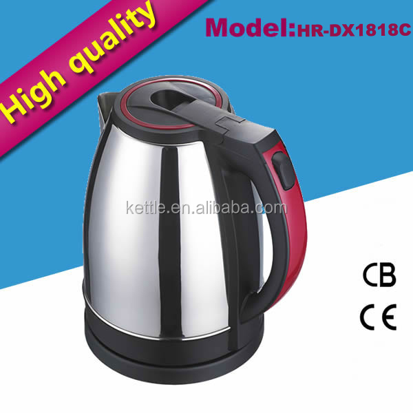 220v 1.8L indian restaurant supplies stainless steel manufacturing process kettle