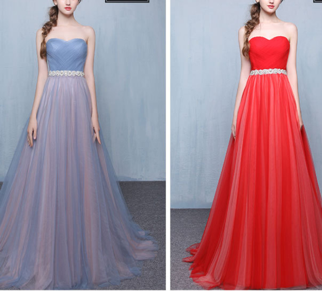 OEM Service Hot Sale Long Chiffon Bridesmaid Dress