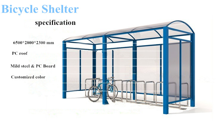 European Style Bicycle Car Port Rain Shelter