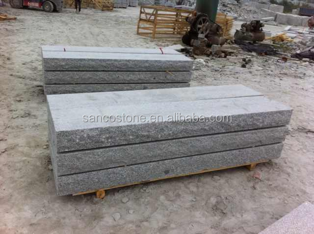 china hot sale G341 grey granite cut-to-size stone form and bush hammered finish surface finishing granite types 60x60 tile
