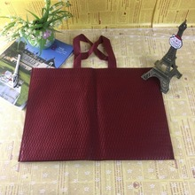 New printing tech made fashion colorful non woven shopping bag