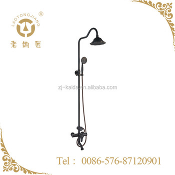 Home Bathroom Solid Brass Bath Mixer Shower with Diverter and Spout