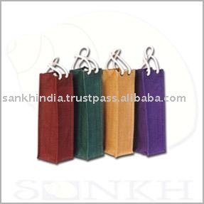 wine glass bag wine bottle bags jute wine bottle bag