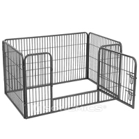 Cheap lowes heavy duty zoo outdoor temporary playpen doghouse wholesale large dog kennel house