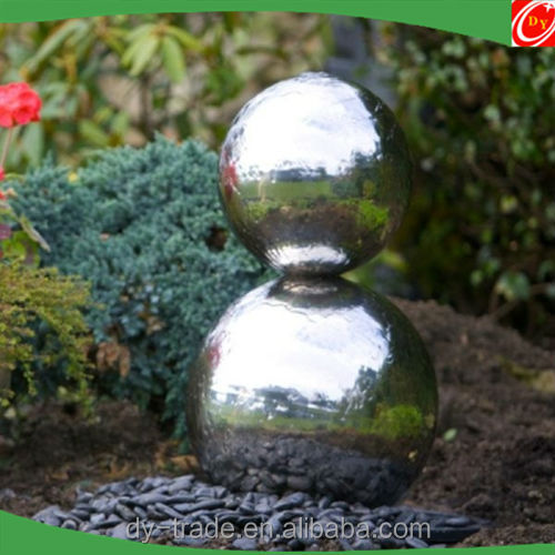 Outdoor Water Fountain Sphere/Globe Fountain/Stainless Steel Fountain Ball