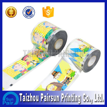 Good Rating PET Heat transfer printing label For Food Package
