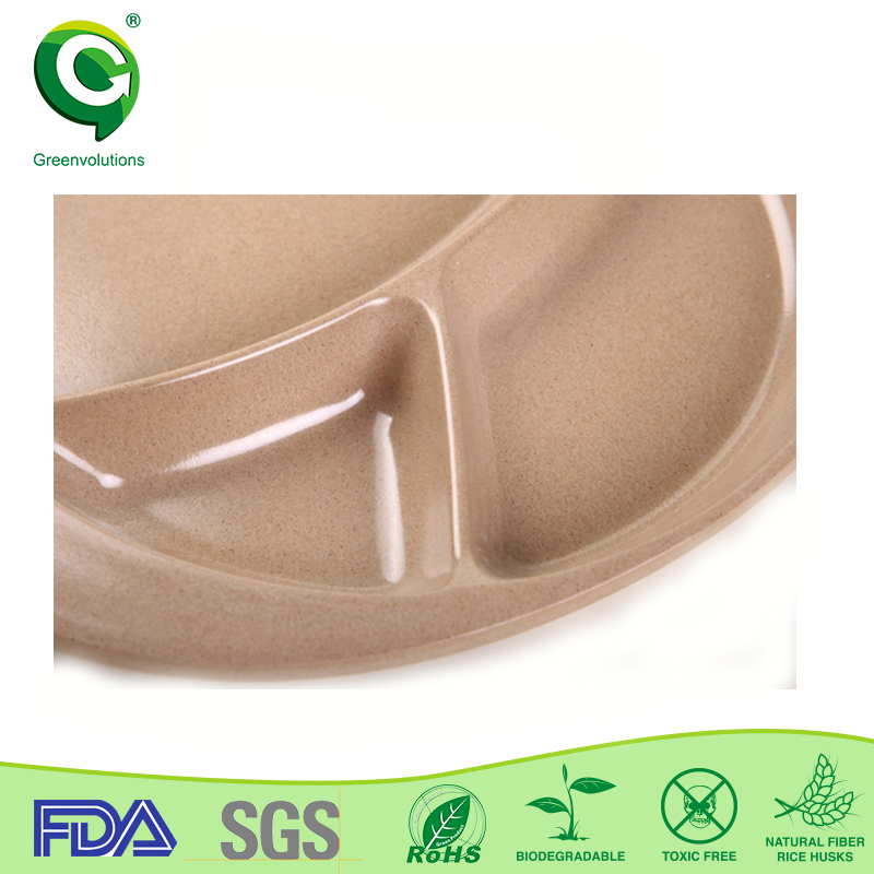 eco-friendly biodegradable cheap charger rose gold charger plates wholesale