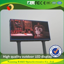 P7 outdoor smd billboard advertising led display speed limit sign trailer