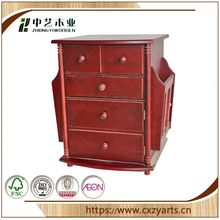 on sale china factory home shoe small wooden cabinet with many drawers