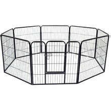 dog run chain link animal cage garden dog fence panel