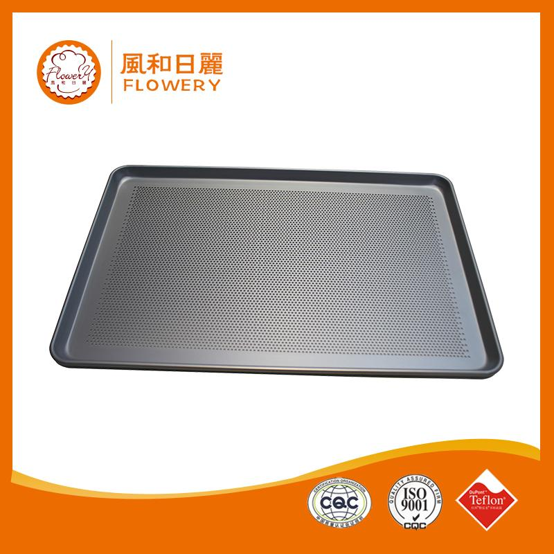 Hot selling aluminum alloy bun / sheet pan with perforated bottom with low price