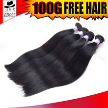 Quality guarantee vendors different color hair weaves,green hair weave, 100 human hair weave brands