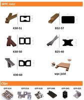 price outdoor wpc decking clips