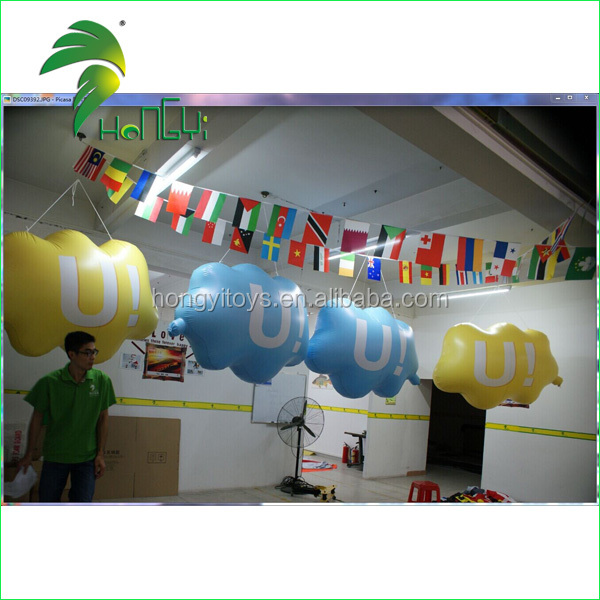 Small Light Cloud Model Inflatable Cloud Balloons