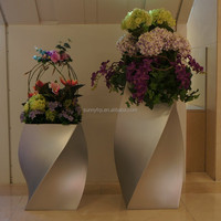 Strong and fashion FRP flower pot