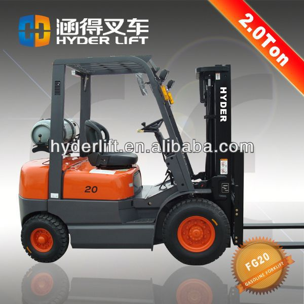 New model 2000kg to 4000kg cheap forklift truck
