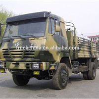 Shacman 4x4 cargo truck military vehicles armored truck