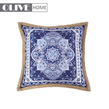 New Design Gold-rimmed Waterproof Printing Wholesale Cushion For Outdoor Patio Furniture