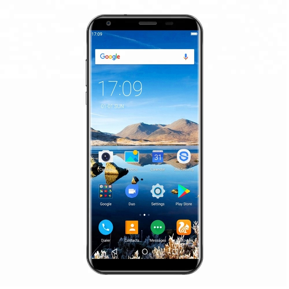 4000mah Oukitel K5 5.7 inch 18:9 Full Screen smartphone MTK6737T Quad Core 2GB+16GB 13MP 3 Cameras <strong>Android</strong> 7.0 Touch ID 4G <strong>phone</strong>