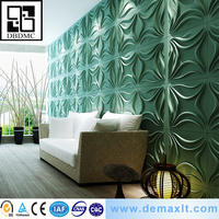 unique lily design House Interior covering wall and ceiling Bamboo paper