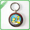 Promotional soft PVC custom key chain for gift