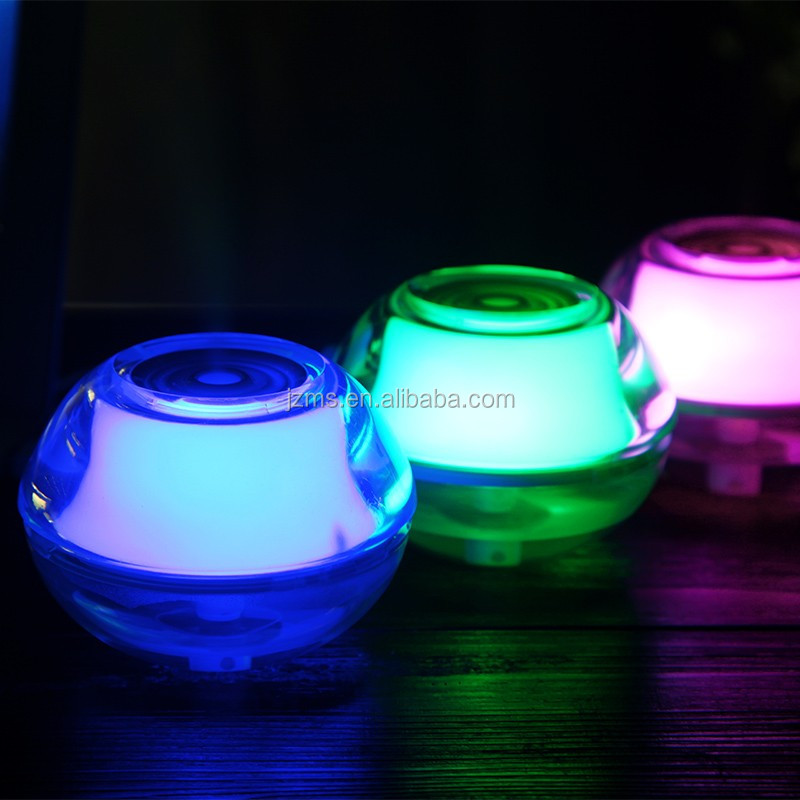 Colorful LED Luminous Crystal Air Humidifier for Office Room aroma diffuser