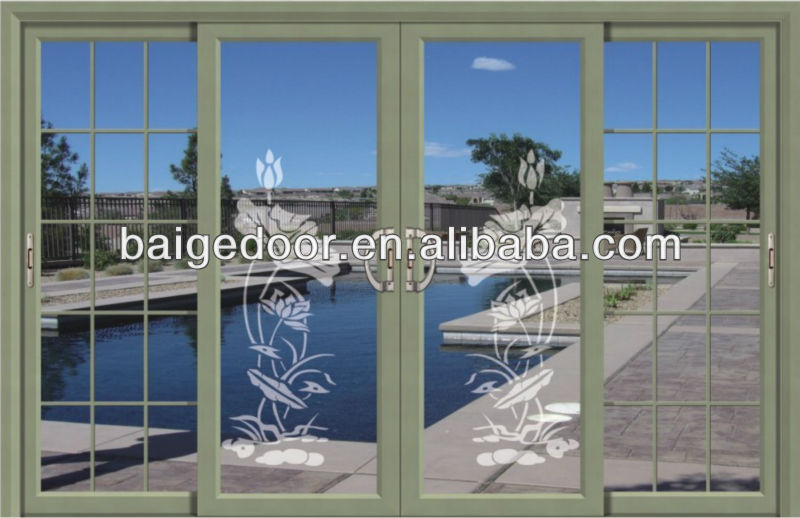 commercial automatic sliding glass doors BG-AW9163
