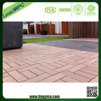 Wood plastic composite Homogeneous Floor Tile