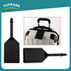 Toprank Wholesale Custom Travel Accessory Bulk Pu Luggage Tag For Travelling,Travel Luggage Tag With Pu Strap