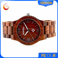 Wood Wristwatches Men's Luxulry Brand Designer Bamboo Wooden Watches