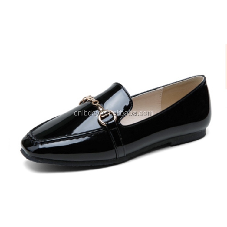 smooth leather flat shoes for made in china buy