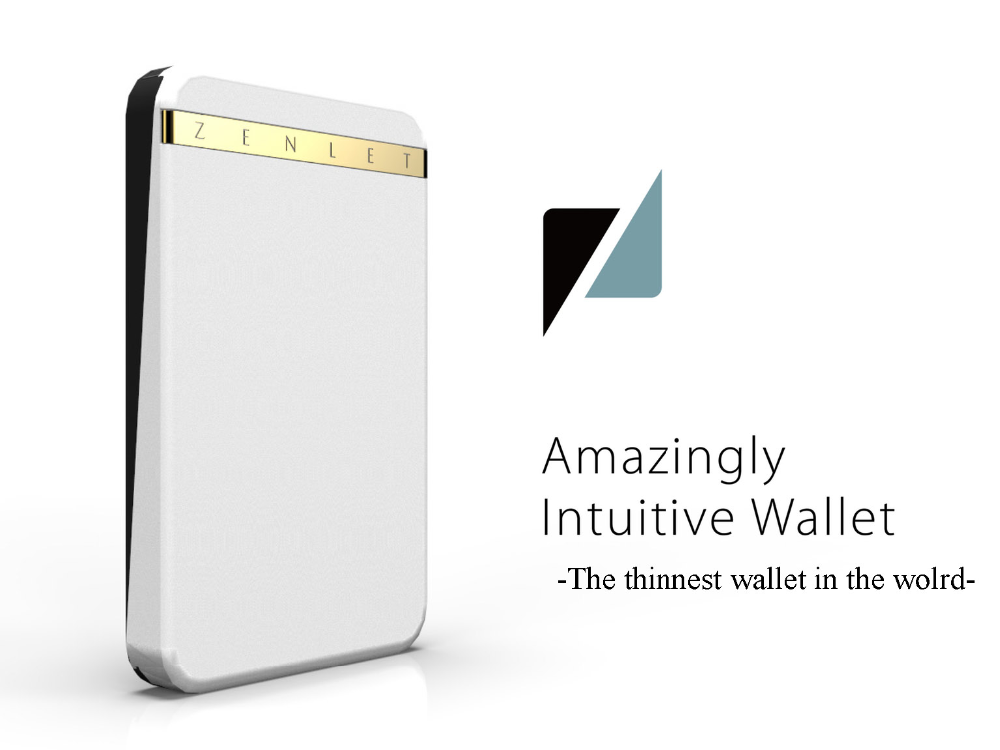 new invention new products 2015 genuine leather wallet money clip