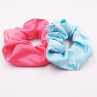 Wholesale fashion elastic ribbon hair scrunchie with factory supply