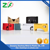 2017 Newest 3D Glasses Type and Virtual Reality Cardboard vr box For 4.7-6.0
