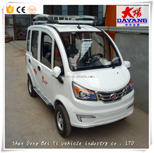 Hot Sale Factory Supply China Cheap 4 Wheel Pure Electric Car Smart Style Car