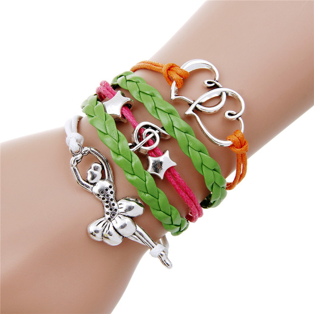 Hot charm vintage rudder anchor bracelet cuir pulsera ancla multilayer braided leather bracelets for women & men pulseira couro