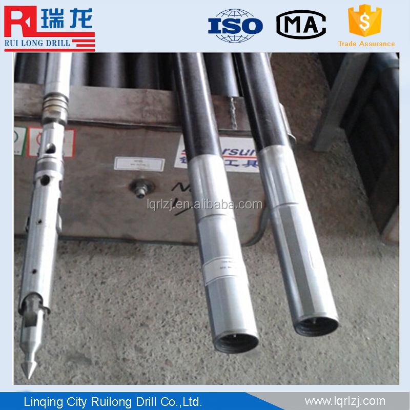 South Africa mining use double tube NQ BQ PQ core barrel core catcher/casing joint